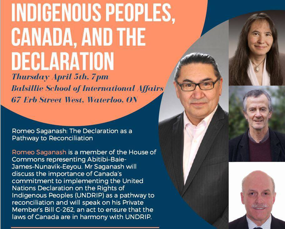 Indigenous Peoples, Canada and the Declaration Conference Livestream Recording