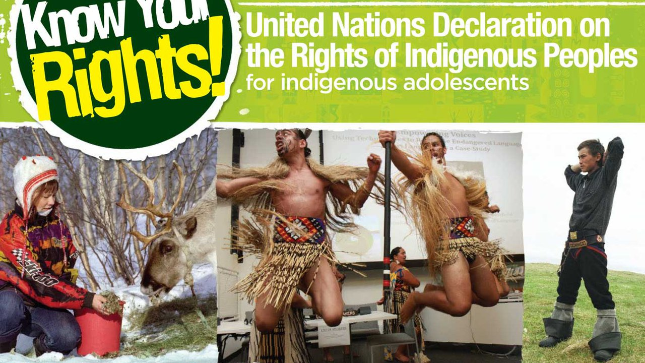 Know Your Rights: United Nations Declaration on the Rights of Indigenous Peoples for Adolescents